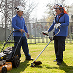 Landscaping and groundkeeping